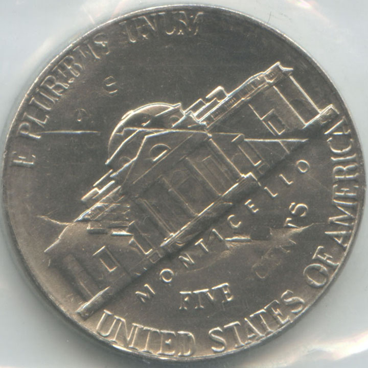 1974 Jefferson Nickel Double Struck In Original Uncirculated Mint Set